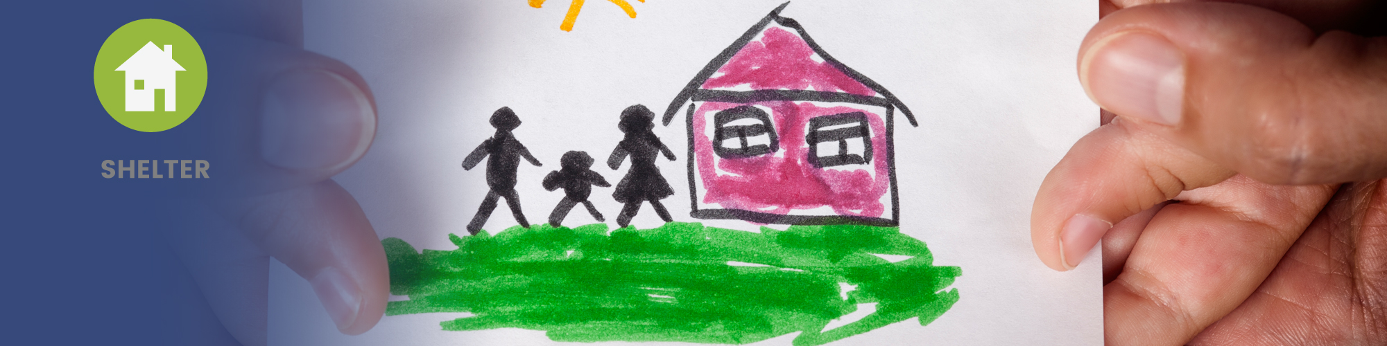 Home page banner image - shelter