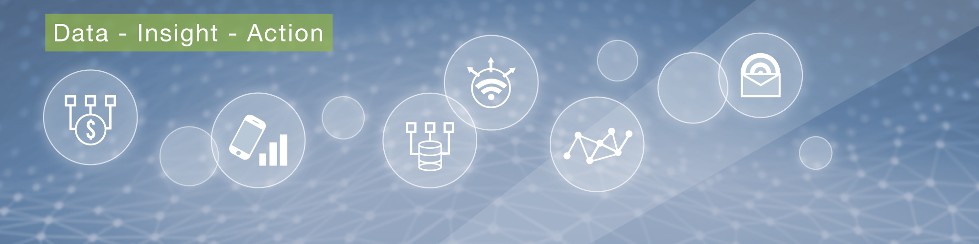 Banner image for the services page - illustration and icons of our service offerings.